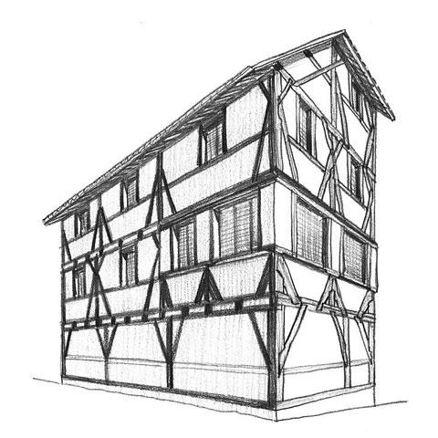 Fachwerkbauten in n rnberg seite 17 for Fachwerk aussteifung